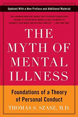 myth of mental illness