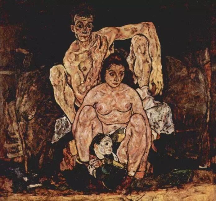 The Family by Egon Schiele