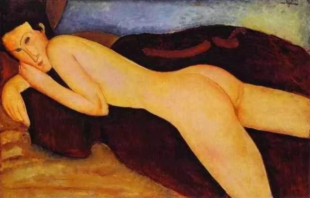 Jeane Hebuterne Nude (ca. 1916)