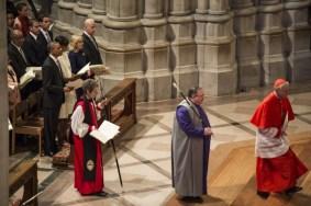 Кардинал Верл и Катарина Джеффертс Шори (крайняя слева)