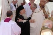 Варфоломей I и папа Франциск