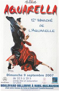 l'affiche de la manifestation du 09 septembre 2007