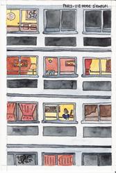 Paris mode d'emploi - carte postale - Yann Gourvennec