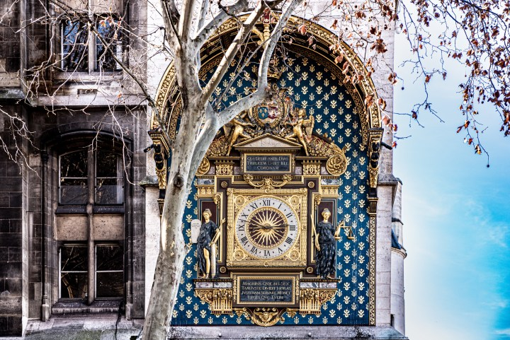 Paris' oldest clock