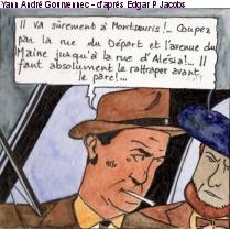 Sur les traces de Blake et Mortimer à Denfert Rochereau