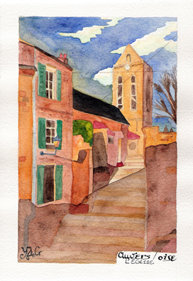 Auvers Sur Oise - On Van Gogh's footsteps