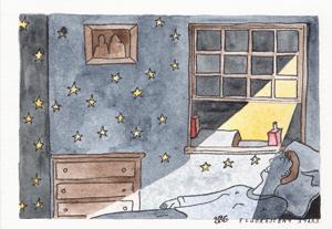 Klima - Angele David Guillou - watercolour