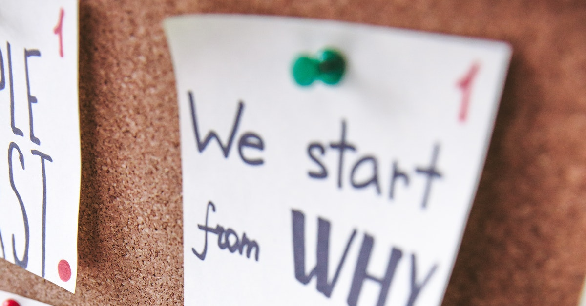 "Define Your ""Why"": A Guide to Developing Your Purpose"