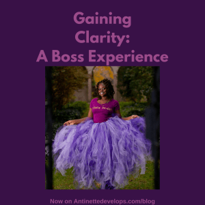 Gaining Clarity: A Boss Experience