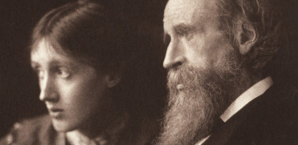 Virginia Woolf e suo padre Leslie Stephen