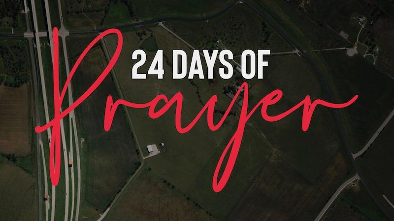 24 days of prayer