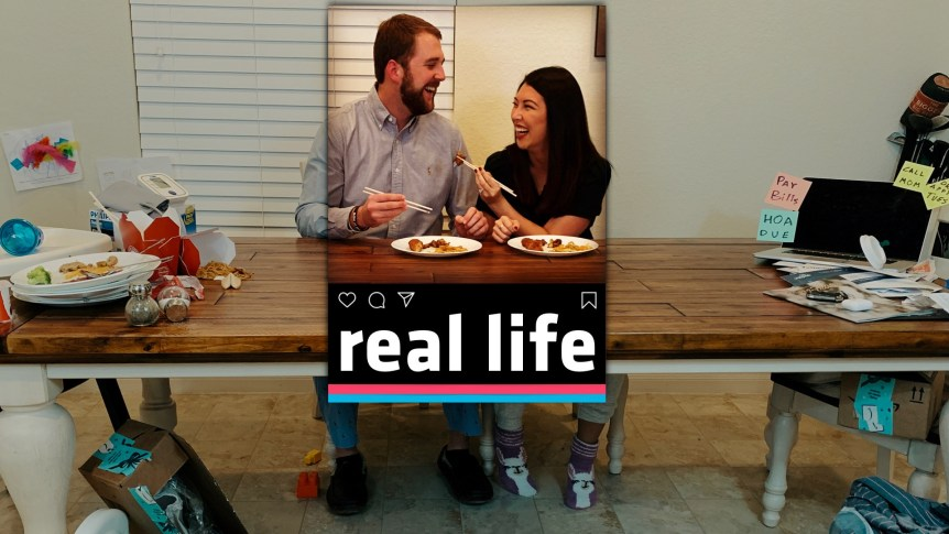 Title slide image for the Real Life sermon series