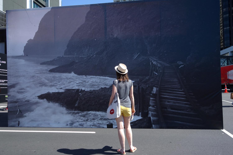 Expo photos pour les 175 ans d'Auckland