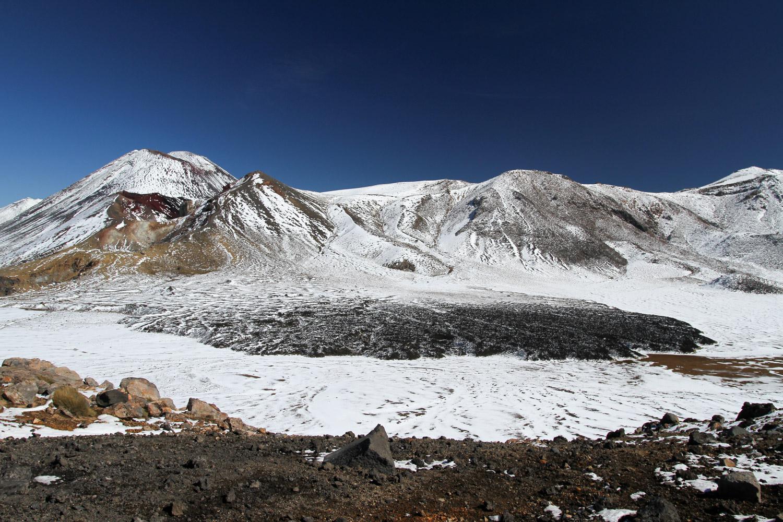 Coulée de lave et red crater