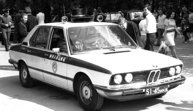 BMW на службе ГАИ СССР. 1980-е годы