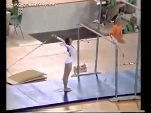 Запрещенный трюк Ольги Корбут. Просто невероятно!