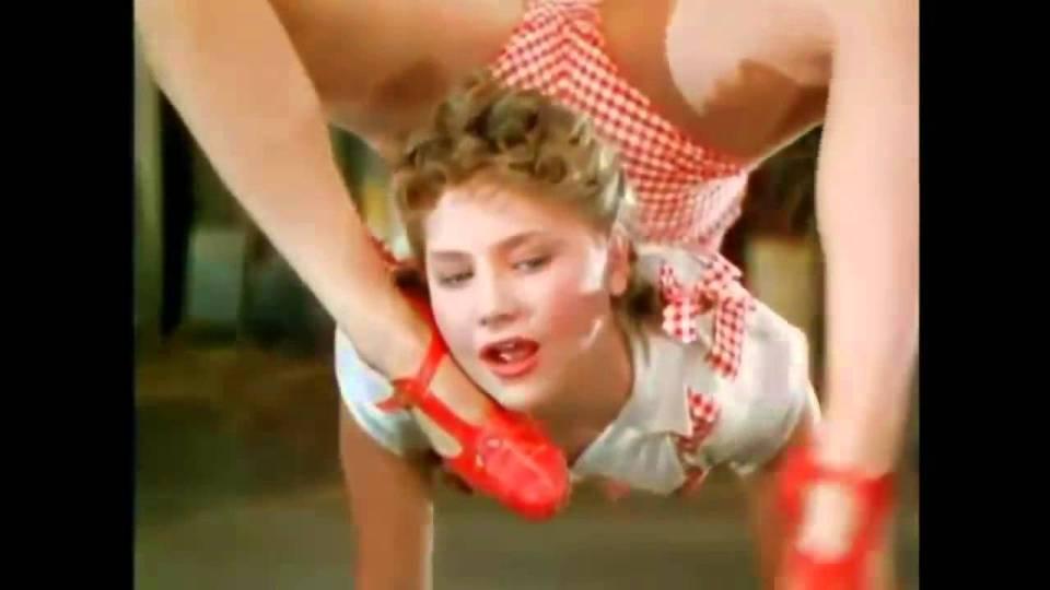 Фантастические акробатические трюки сестер Росс, который до сих пор никто не повторил