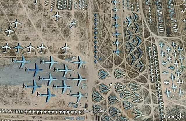 11 невероятных открытий, сделанных при помощи спутниковых снимков Google Earth