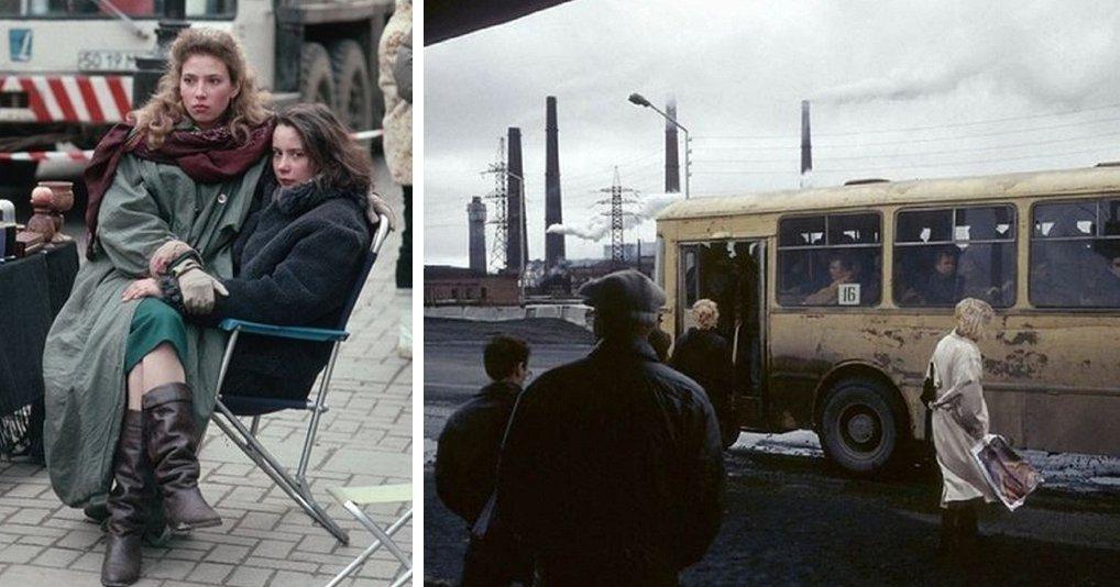 Фотографии России родом из 90-х