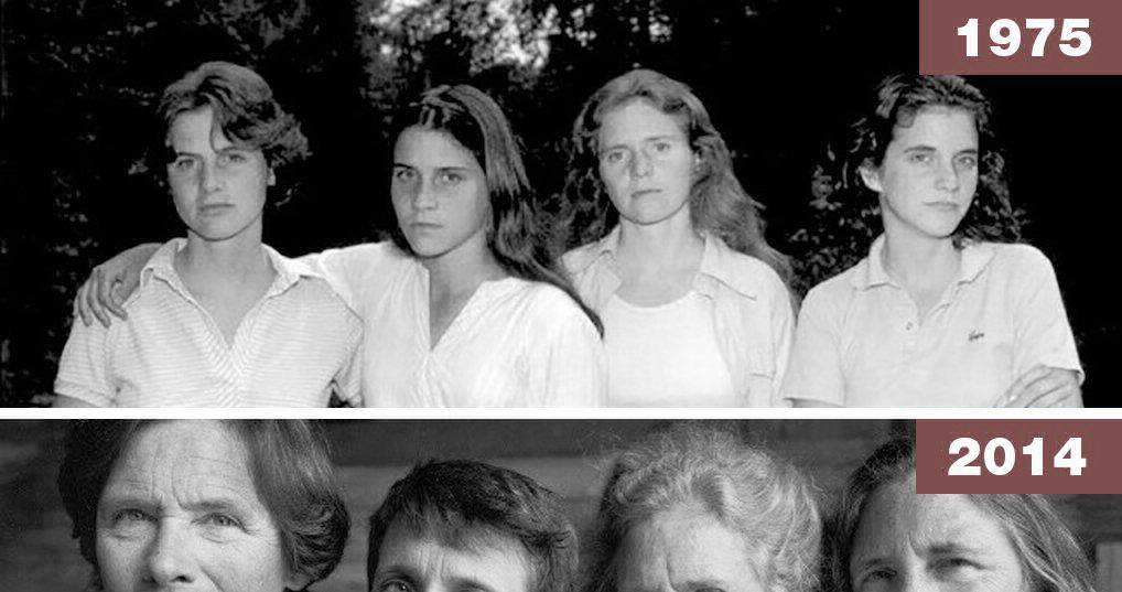 """""""Четыре сестры"""": впечатляющий фотопроект Николаса Никсона"""