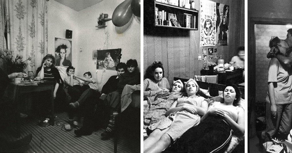 Как раньше жили советские женщины в общежитиях