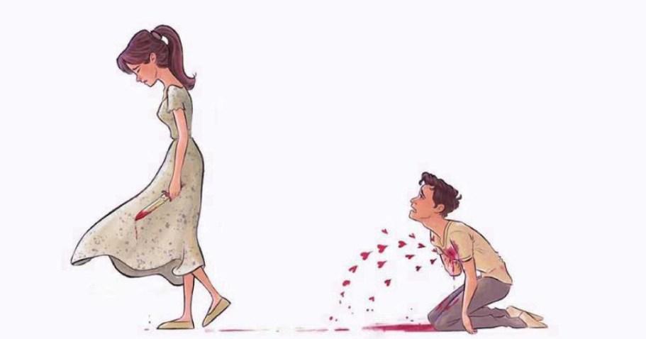 Иллюстрации, которые будут вам очень близки, если вы были хоть раз влюблены