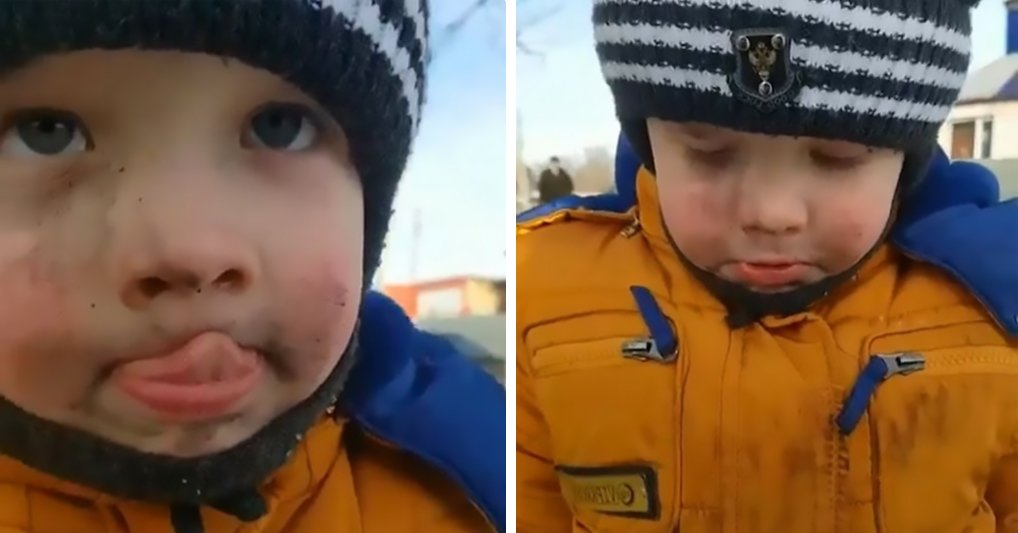 Серьезный парень: малыш справедливо признал свою вину и очаровал пользователей Интернета