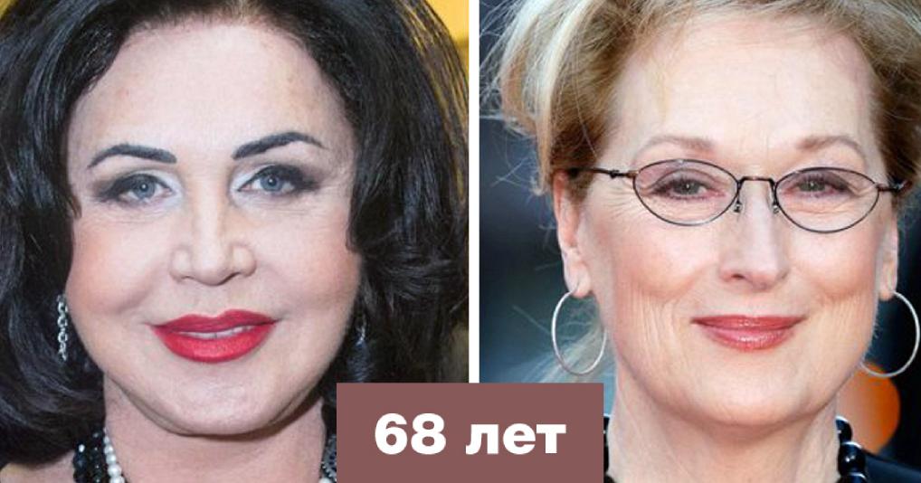 Сравниваем зарубежных и российских знаменитостей одного возраста