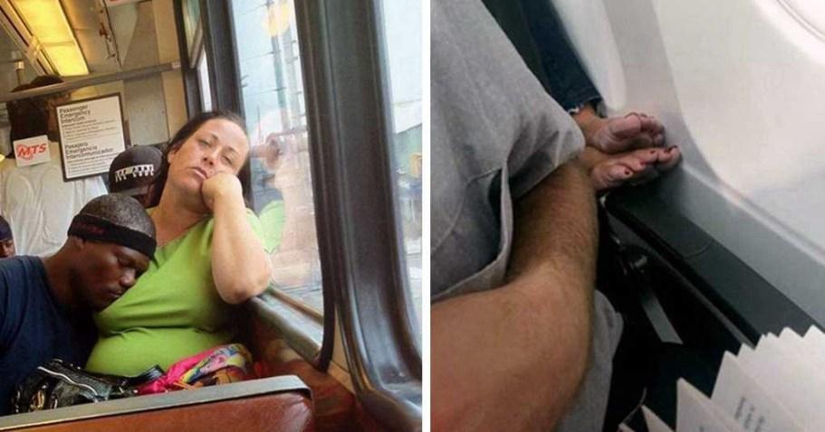 С этими личностями вы точно не хотели бы пересечься в общественном транспорте