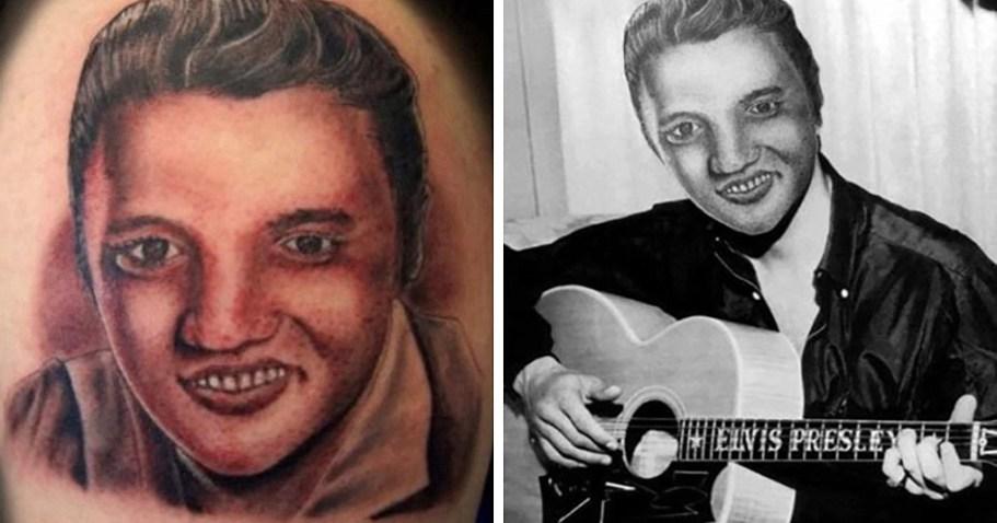 Эти татуировки, при переносе в реальную жизнь, рассмешат и напугают одновременно