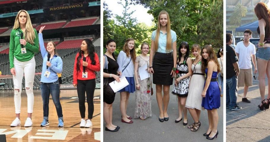 Эти высокие девушки не каждому по плечу