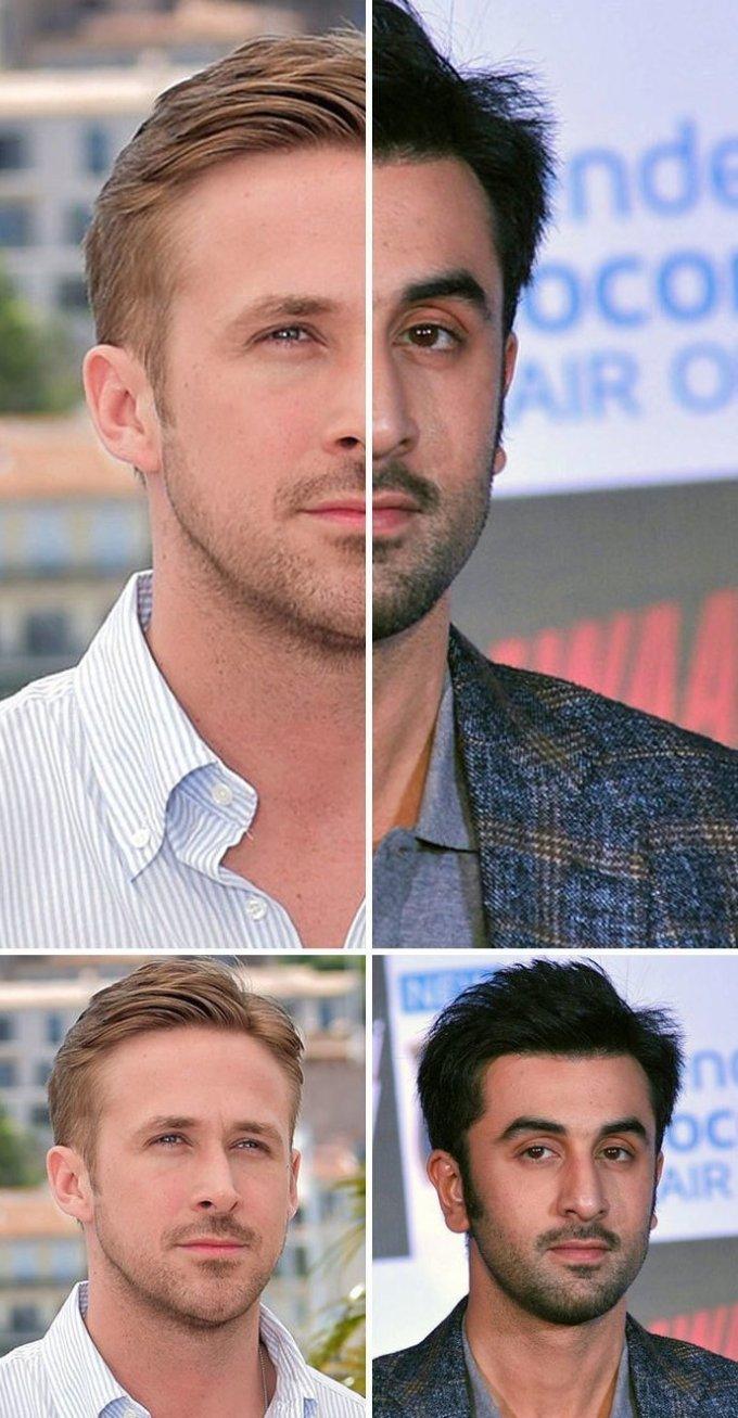 23 пары знаменитостей, невероятно похожих друг на друга
