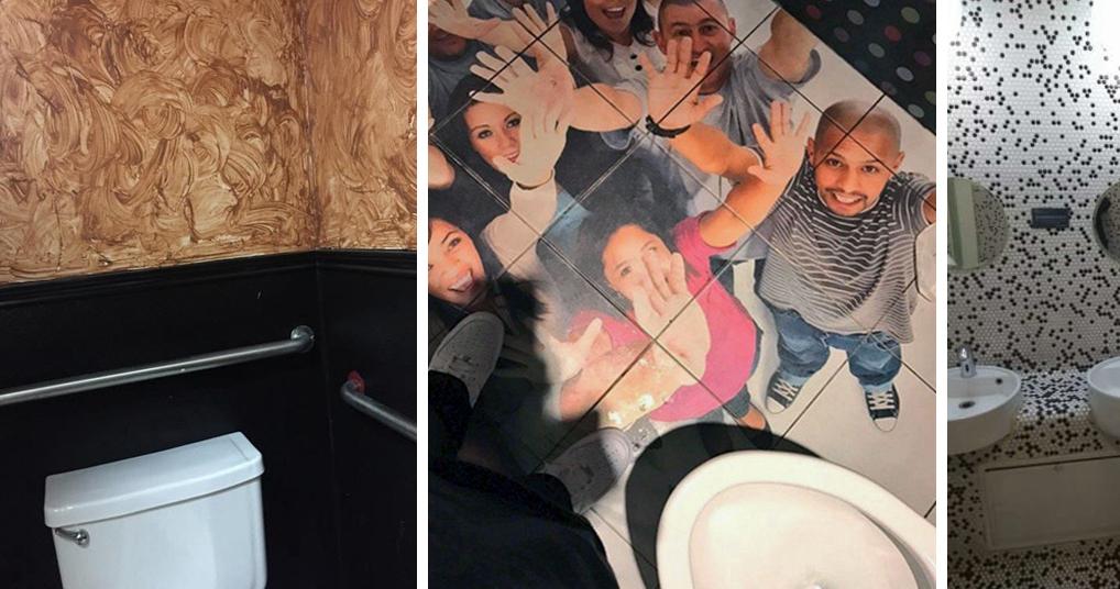 Туалеты, чье оформление навевает мысли о криворукости его автора