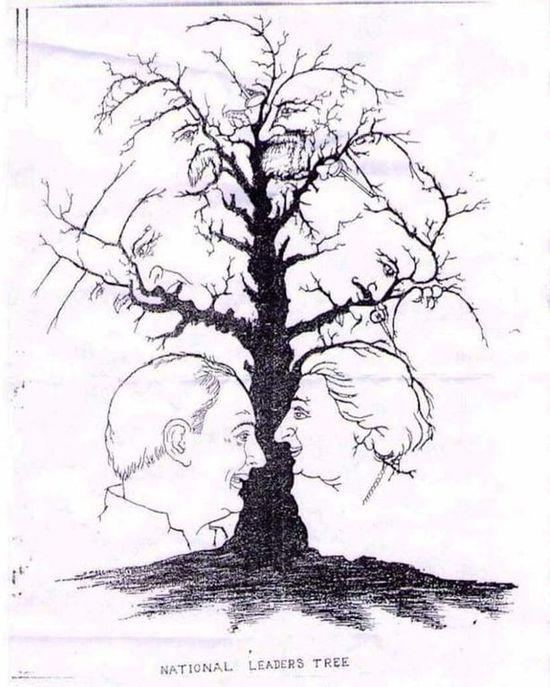 Тест на воображение: сколько лиц вы находите на картинке?
