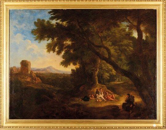 quadri antichi del '700