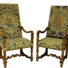 sedie antiche del '600