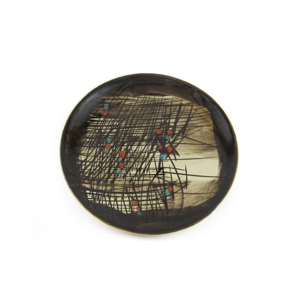 ceramica baratti pesaro piatto antico