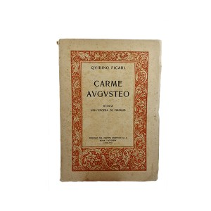 Carme Augusteo, Q. Ficari, edizione originale 1938