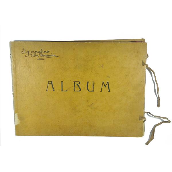 giornalino della domenica album antico 1907