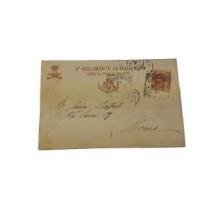 Cartolina militare 1906