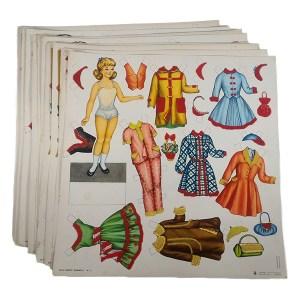 Gioco per bambine in cartone - 10 tavole