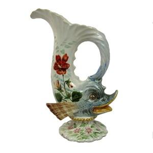 """Brocchetta ceramica """"F.a.c"""" albisola"""