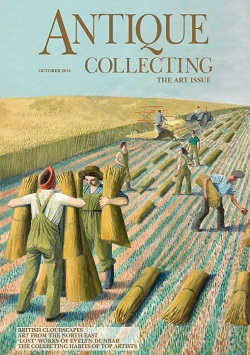 October issue of Antique Collecting