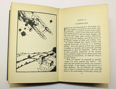 The first edition Biggles book - The Camels are Coming