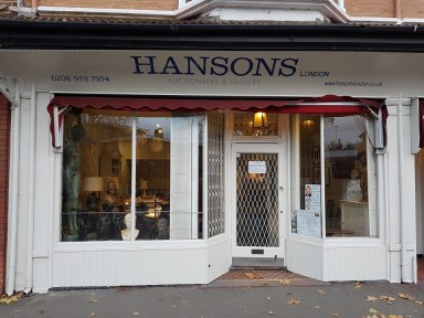 hansons London consignment office