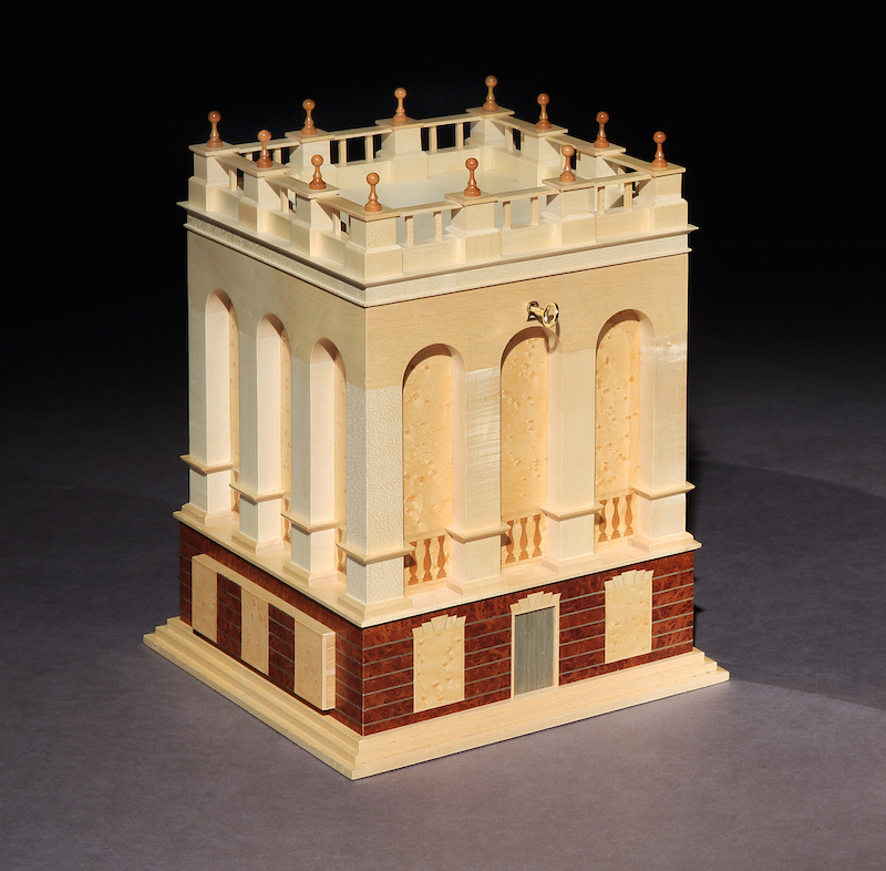 David Linley for Dunhill architectural jewellery box