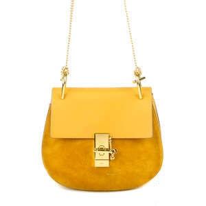 A vintage Chloe handbag in mustard yellow