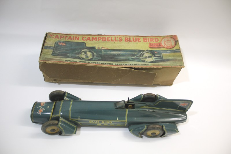 Malcolm Campbell Bluebird vintage toy