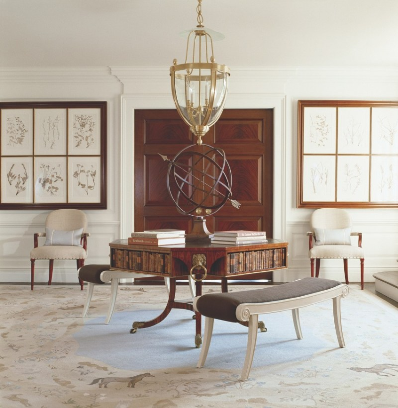 Antique furniture in private residence
