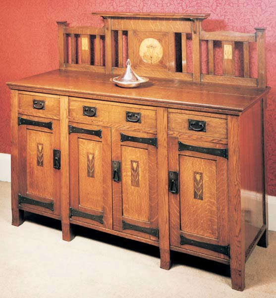 A Guild of Handicraft sideboard